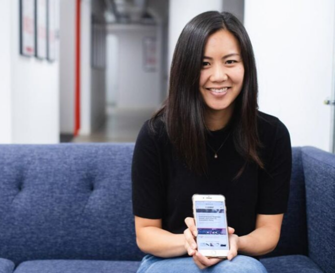 Gladeo co-founder Grace Cho