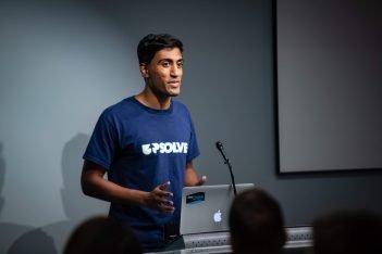 Rohan Pavuluri at Demo Day
