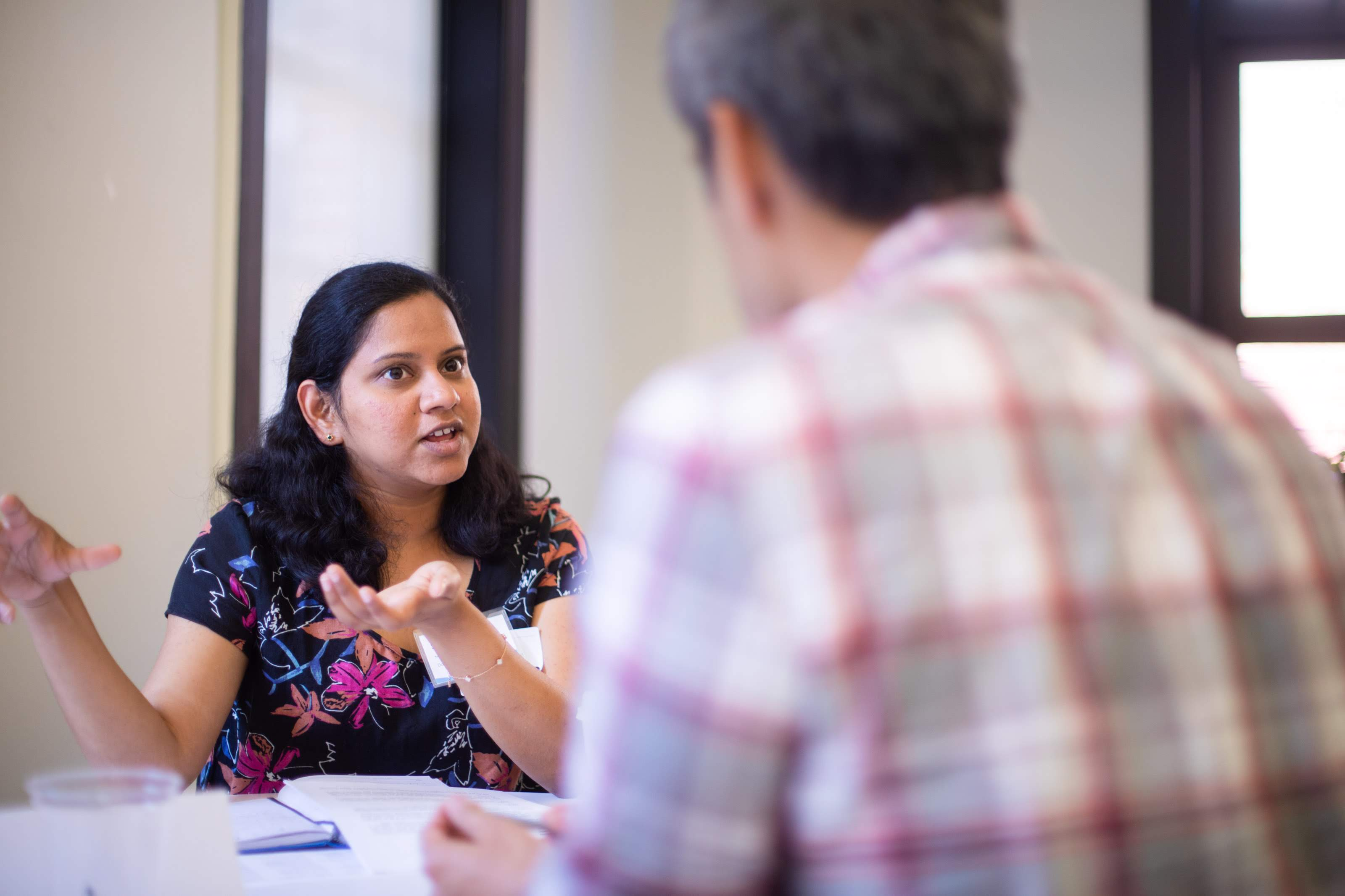 Sindhuja talks nonprofit engineering at Accelerator