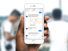 Raheem is a Chatbot for Anonymously Reporting and Rating Experiences with Police